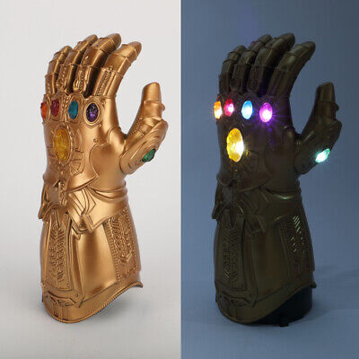 Kids LED Infinity Gauntlet Avengers Endgame Infinity War LED Gloves Kids Props