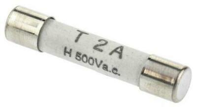 1A 10 x RS Pro Cartridge Fuse 70-065-65//1ARS T 6.35 x 32mm