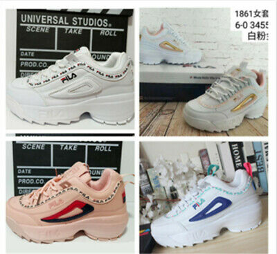 New《FILA Destroyer 2》Generation Blade Running Shoes Student%Leisisure White Shoe