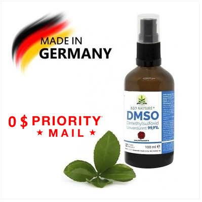 DMSO 100ML Pure 99.9% Dimethyl Sulfoxide 100ml Top quality. MADE IN GERMANY