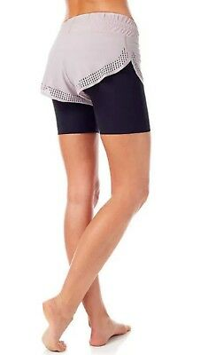 Sweaty Betty Aerial 2in1 detachable Shorts Dance size M SB1310-B2