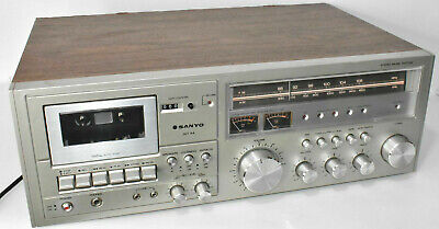 Sanyo JXT44 Tuner Stereo Music System AM/FM Radio Cassette Player Tested Working