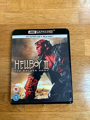 Helboy 2 UHD 4k and Blu-Ray