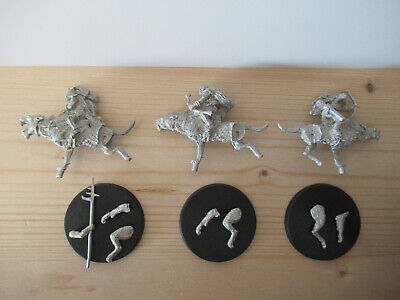 Games Workshop Citadel Lord of the Rings Lotr Warg Riders Metal