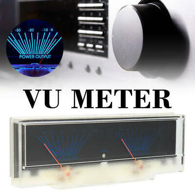 Dual Analog VU Meter Audio Level DB Meter With Backlit Lumière Durable Portable