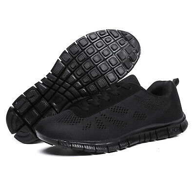 Men's Mesh Running Trainers Athletic Walking Gym Shoes Sport Run Size UK