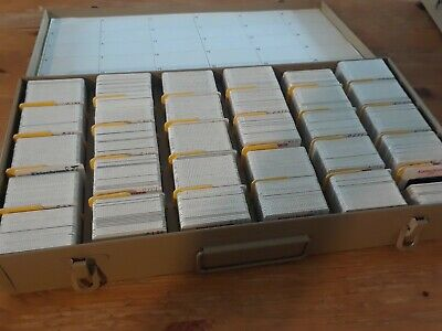 Lot of 550+: Vintage 35mm color photo slides - NORWAY, COLORADO Metal slide case