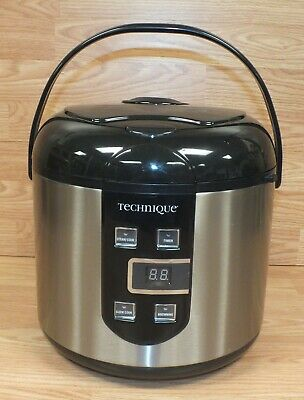 Genuine Technique (CFXB50-56) 5.3-quart Stainless Steel Rice / Multi-cooker