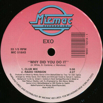Exo - Why Did You Do It (Vinyl)