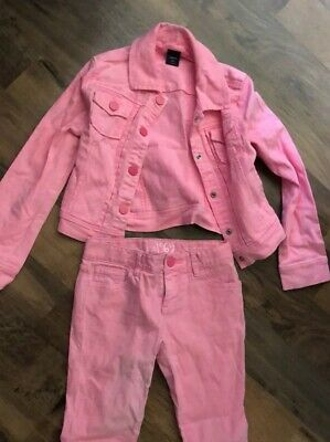 Girls Gap Demin Pink Jacket Age 6years (S) & Jeans
