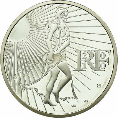 [#722767] France, 15 Euro, 2010, FDC, Argent, KM:1535