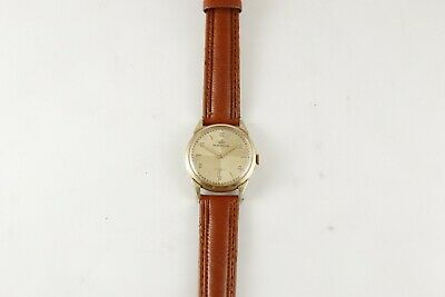 ART DECO VINTAGE SWISS  WRISTWATCH MARVIN cal .520 ; 33 mm ; 3 adj ; 17 jewels