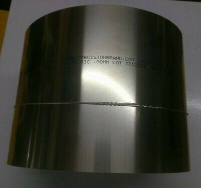 "Stainless Steel Shim 0.80mm - 6"" x 12"""
