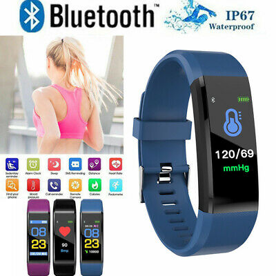 Fitness Smart Watch Activity Tracker WomenMen Kid Fitbit Android iOS Heart Rate