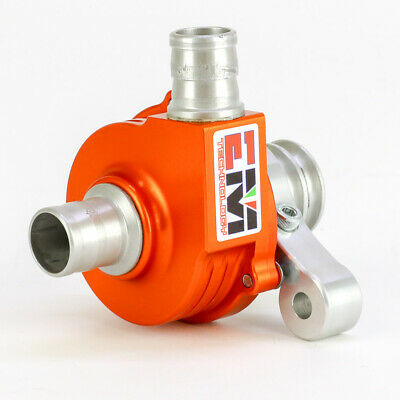 Go Kart EM Technology Aluminium Water Pump Orange Anodized EM-09 Karting Race Ra