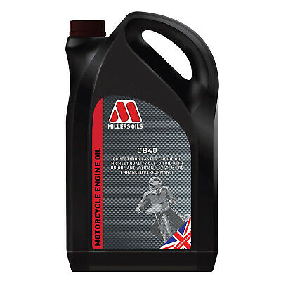 Go Kart Cb40 Racing Castor Oil 1L Bottle Karting Race Racing