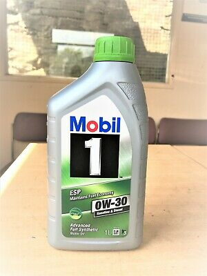 Mobil 1 ESP 0W-30 Fully Synthetic Motor Oil/Maintains Fuel Economy