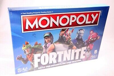 MONOPOLY Fortnite Edition Board Game Hasbro - SEALED - FAST SHIPPING