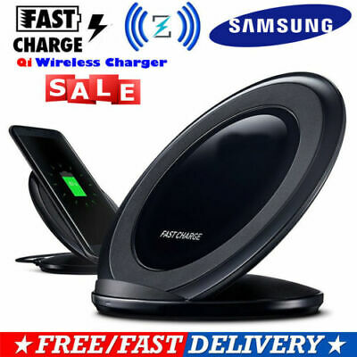 Samsung Qi Wireless Charger Charging Station pad dock for S8 S9 S10 plus Note 8