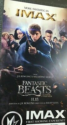 LOT of 50 Fantastic Beasts Where to Find  Regal IMAX Collectible Tickets #1000