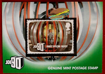 JOE 90 - Great British Postage Stamp Card PS1 - GERRY ANDERSON COLLECTION 2017
