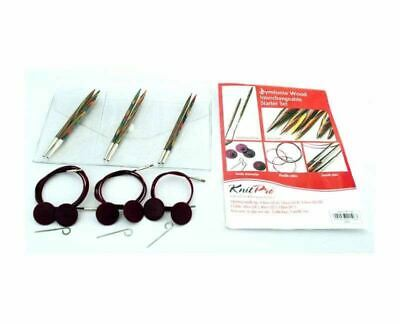 KnitPro Symfonie Wood Starter Interchangeable Circular Knitting Needle Set