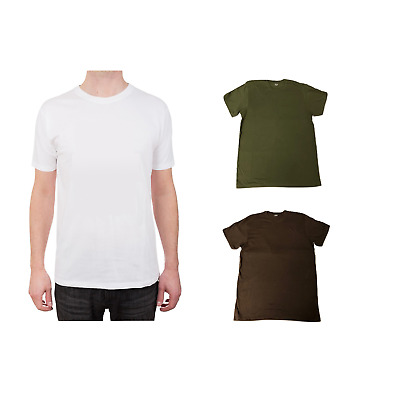 Wholesale Packs of 25, 50 or 100 Solid T-Shirts Recycled Cotton Superior Quality