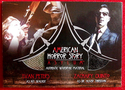 AMERICAN HORROR STORY - ASYLUM - ZACHARY QUINTO + EVANS PETERS - CD4 - #50 of 67
