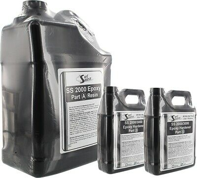 DING ALL SS EPOXY 1.5 Gallon SET (1 Gallon Resin and 2x32oz hardner)