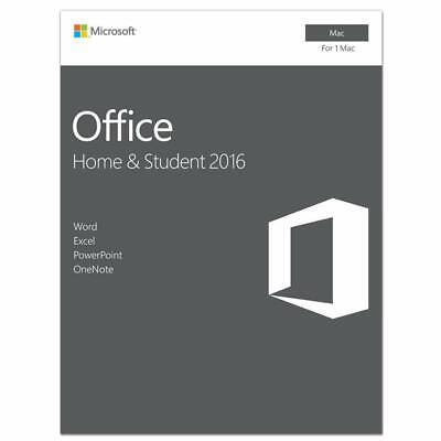 Microsoft Office 2016  Home & Student  (Mac)  Free Shipping!
