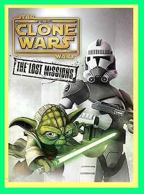 New & Sealed  Star Wars: The Clone Wars The Lost Missions (2014, DVD ) Season 6