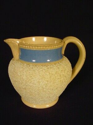 "RARE ANTIQUE 1800s SMALL 3"" PITCHER YELLOW WARE"