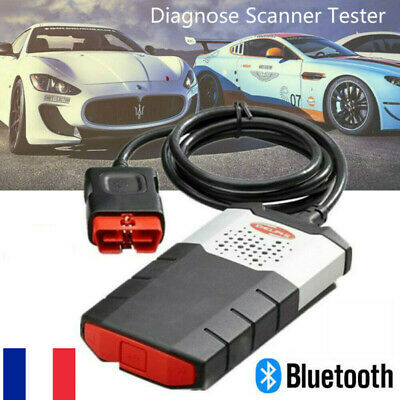 Diagnostic auto Interface diagnostique Multimarque150E OBD2 Bluetooth Pro DS FR