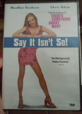 Say it Isn't So! (DVD) NEW - Heather Graham & Chris Klein - Romantic Comedy
