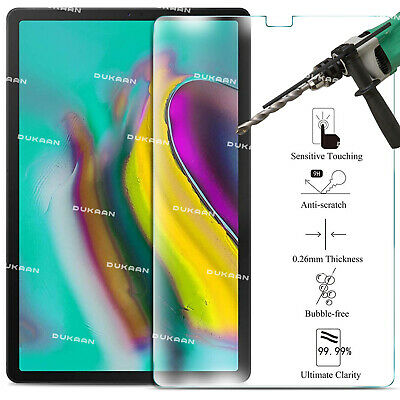 """Tempered Glass Screen Protector For Samsung Galaxy Tab S5e 10.5"""" SM-T720 SM-T725"""