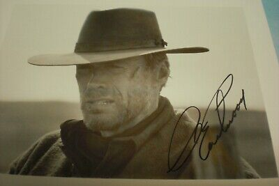 CLINT EASTWOOD AUTOGRAPHED 5X7 Photo - $44 99 | PicClick