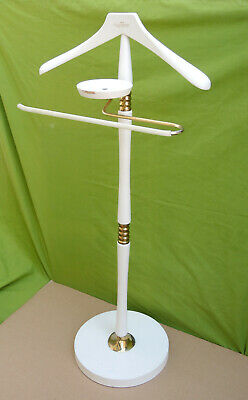 HERRENDIENER STUMMER DIENER COAT RACK WEISS UNION REGENT ca 98 cm hoch