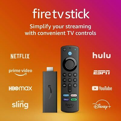 AMAZON FIRE TV STICK with Alexa Remote Newest model NEW Sealed