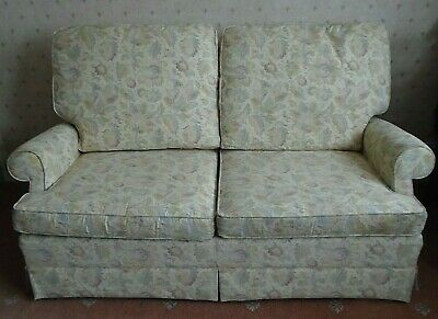 PARKER KNOLL 2 SEATER SOFA BED SETTEE - VINTAGE 1980's