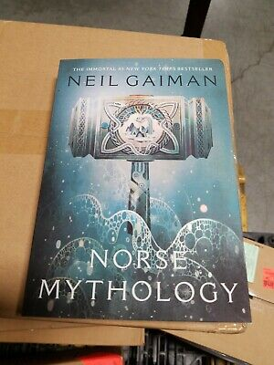 Norse Mythology by Neil Gaiman (2018, Paperback)