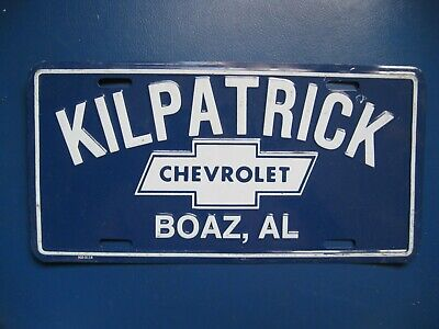 Vintage Chevrolet License Plate Quot Building A Better Way To