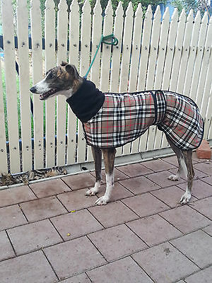 Dishlicker Greyhound Tartan Kennel Coat,
