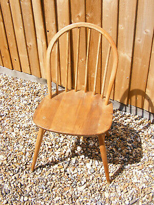 Vintage Retro Blonde Ercol Windsor 203/2 Two Seater Seat Sofa with Cushions