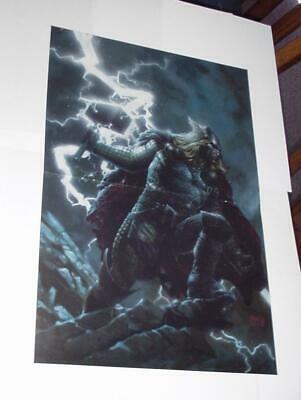 Thor Poster #39 Electrified Mjorlir by David Finch Mighty Avengers