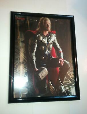 Thor Poster #62 FRAMED Movie Mjolnir Chris Hemsworth Avengers Infinity War
