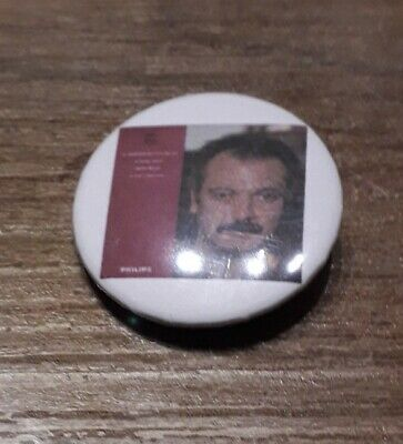 Badge 32mm brassens 12