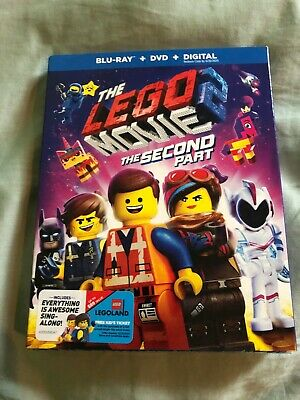 The LEGO Movie 2: The Second Part (Blu-ray + DVD + Digital) NEW SEALED
