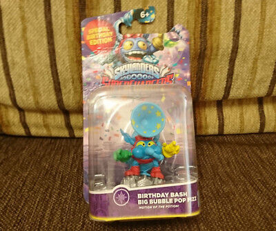 Birthday Bash Big Bubble Pop Fizz / Skylanders Superchargers / NEW / RARE