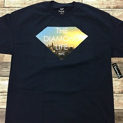 4881442d DS NWT KITH NYC x Diamond Supply Co Collaboration Baseball Jersey XL ...