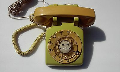 Rotary Telephone Western Electric Telephone Bell System Rotary Desk (WORKS!)